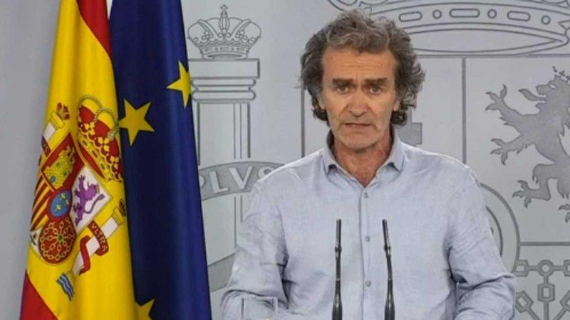 Simón, preocupado por el problema con los datos de Cataluña en los últimos días