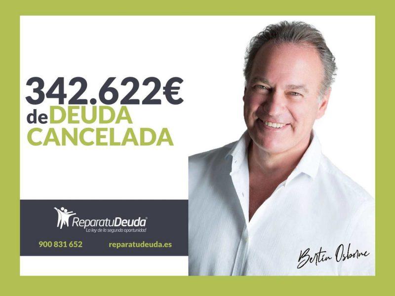 Repara tu Deuda Abogados cancela 342.622? en Sabadell (Barcelona) con la Ley de Segunda Oportunidad