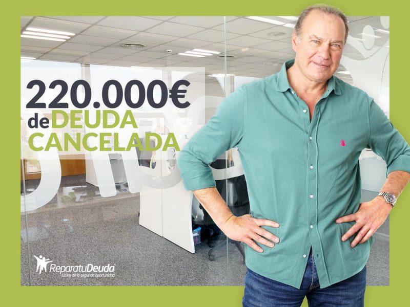 Repara tu Deuda Abogados cancela 220.000 ? en Sabadell (Barcelona) con la Ley de Segunda Oportunidad