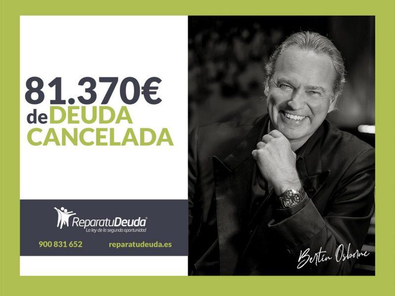 Repara tu Deuda Abogados cancela 81.370 ? en Barcelona con la Ley de Segunda Oportunidad