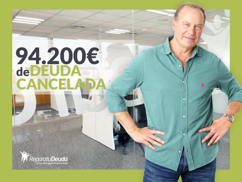 Repara tu Deuda abogados cancela 94.200 ? en Sabadell (Barcelona) con la Ley de Segunda Oportunidad