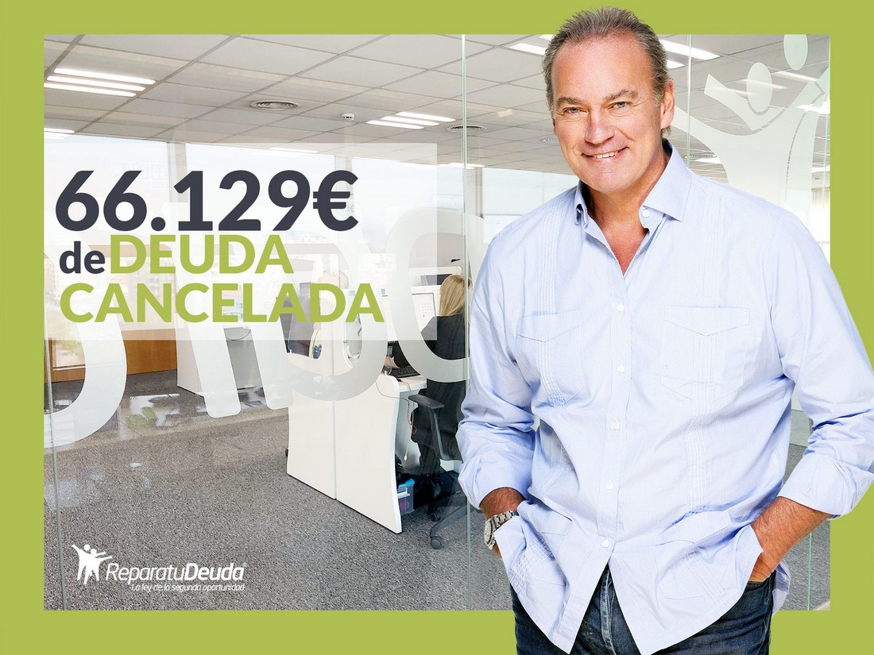 Repara tu Deuda cancela 66.129 ? en Guadalajara (Castilla-La Mancha) con la Ley de Segunda Oportunidad