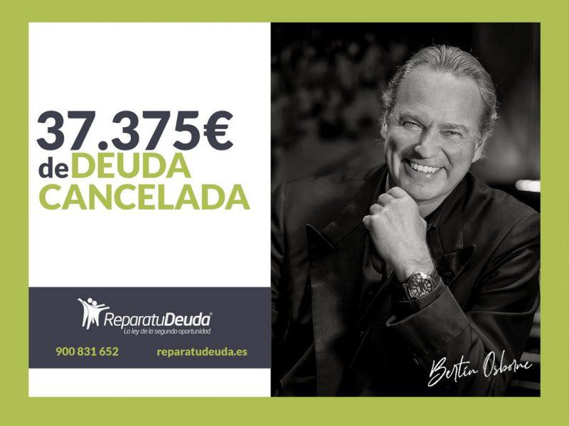 Repara tu Deuda Abogados cancela 37.375 ? en Valencia con la Ley de Segunda Oportunidad