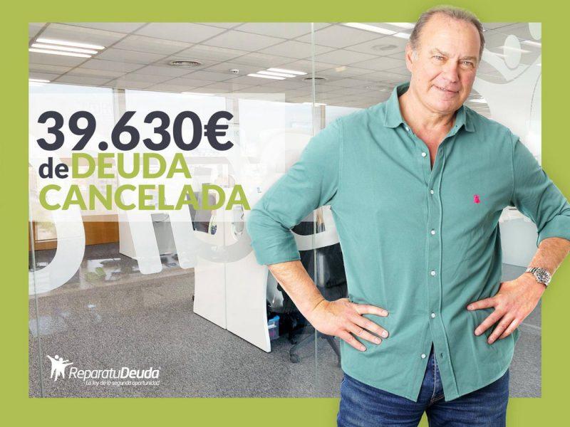 Repara tu Deuda Abogados cancela 39.630? en Olesa de Montserrat con la Ley de Segunda Oportunidad
