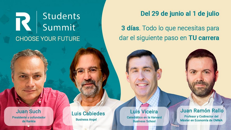 Rankia Students Summit: Feria online y gratuita con las mejores universidades y escuelas de negocios