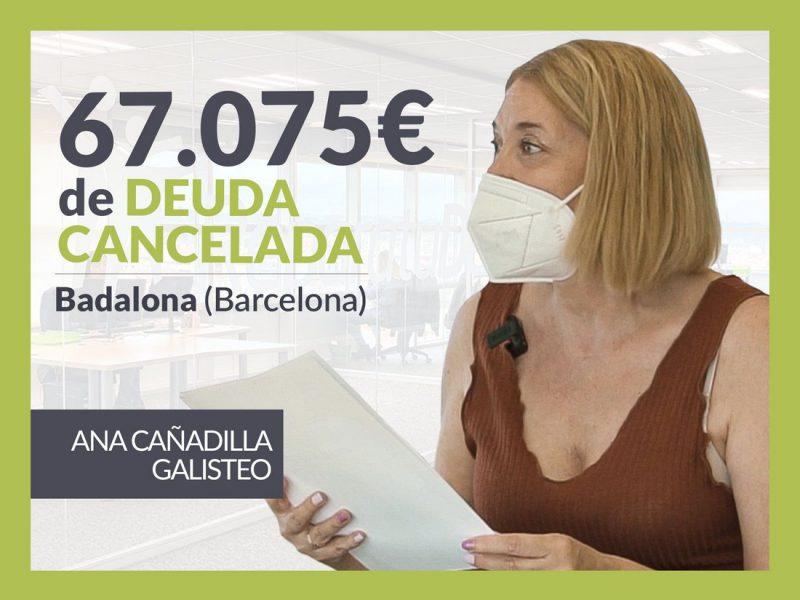 Repara tu Deuda Abogados cancela 67.075? en Badalona (Barcelona) gracias a la Ley de Segunda Oportunidad
