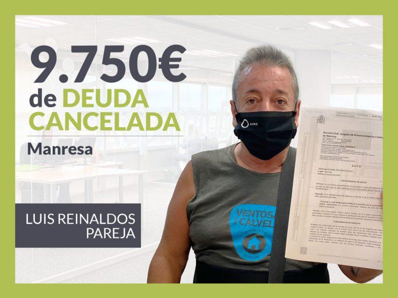 Repara tu Deuda Abogados cancela 9.750 ? en Manresa (Bages) con la Ley de Segunda Oportunidad
