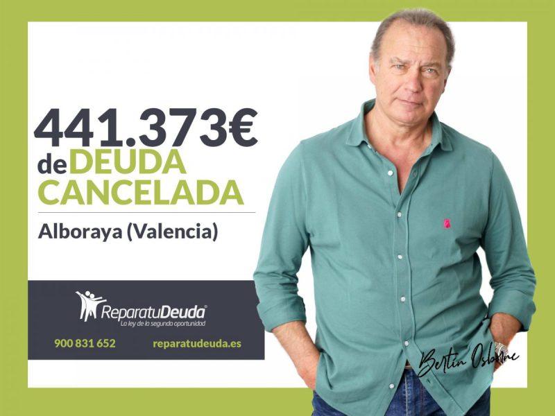 Repara tu Deuda Abogados cancela 441.373? en Alboraya (Valencia) con la Ley de Segunda Oportunidad