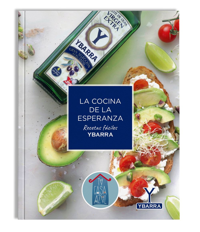 Ybarra lanza el libro de recetas solidario 'La Cocina de la Esperanza' para apoyar al reto